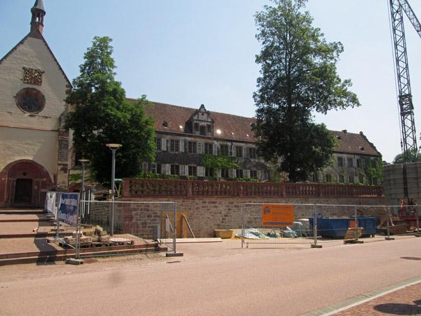 Sie sehen die Bilder zu: Kloster Bronnbach, Sanierung Abteigarten