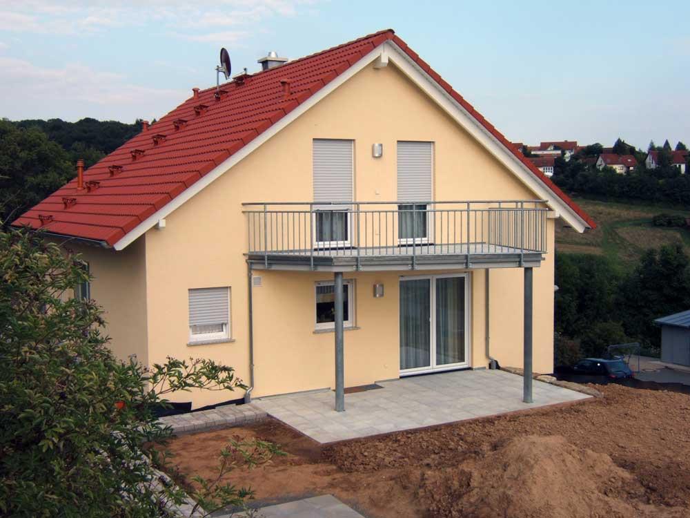 Sie sehen die Bilder zu: Grünsfeld - schlüsselfertiger Wohnhausneubau in Niedrigenergiebauweise